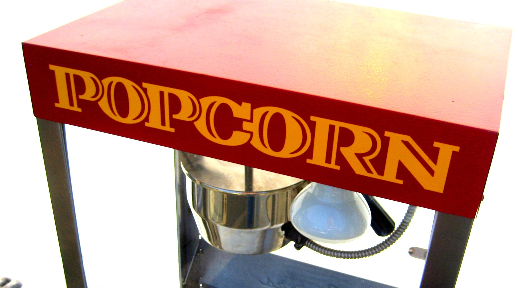Cretors brand popcorn machine